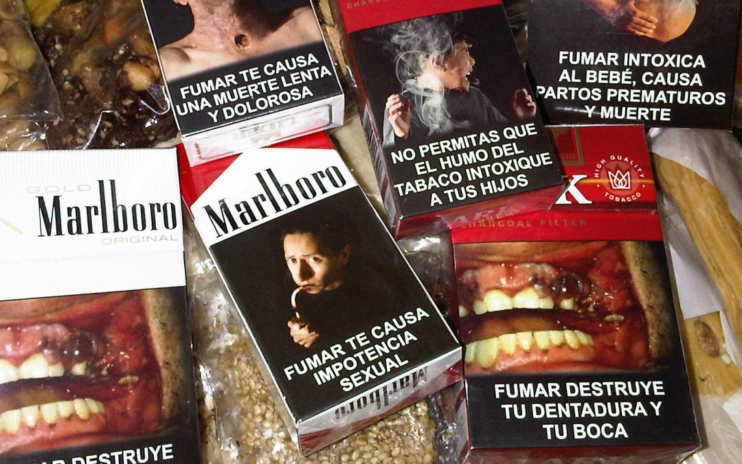 Efecto de las advertencias en las cajetillas de cigarro